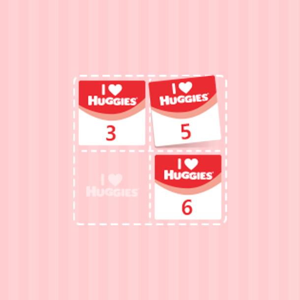 I♥HUGGIES 점수를 맘큐 포인트로